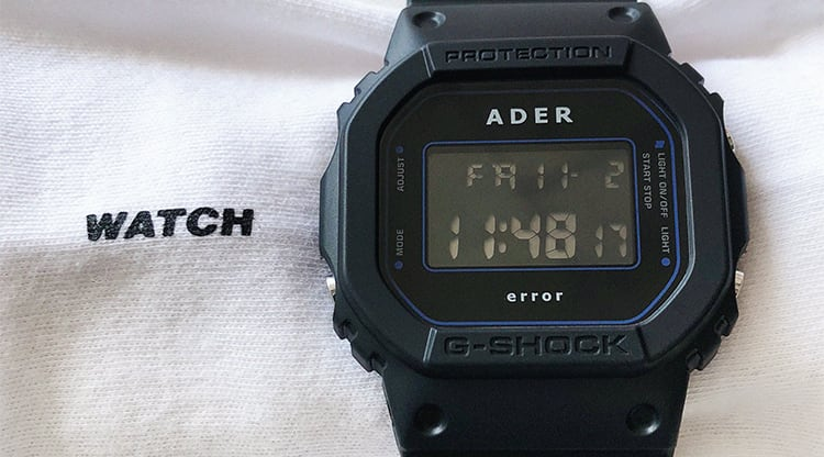 Casio G-Shock x ADER error DW-5600ADER Watch