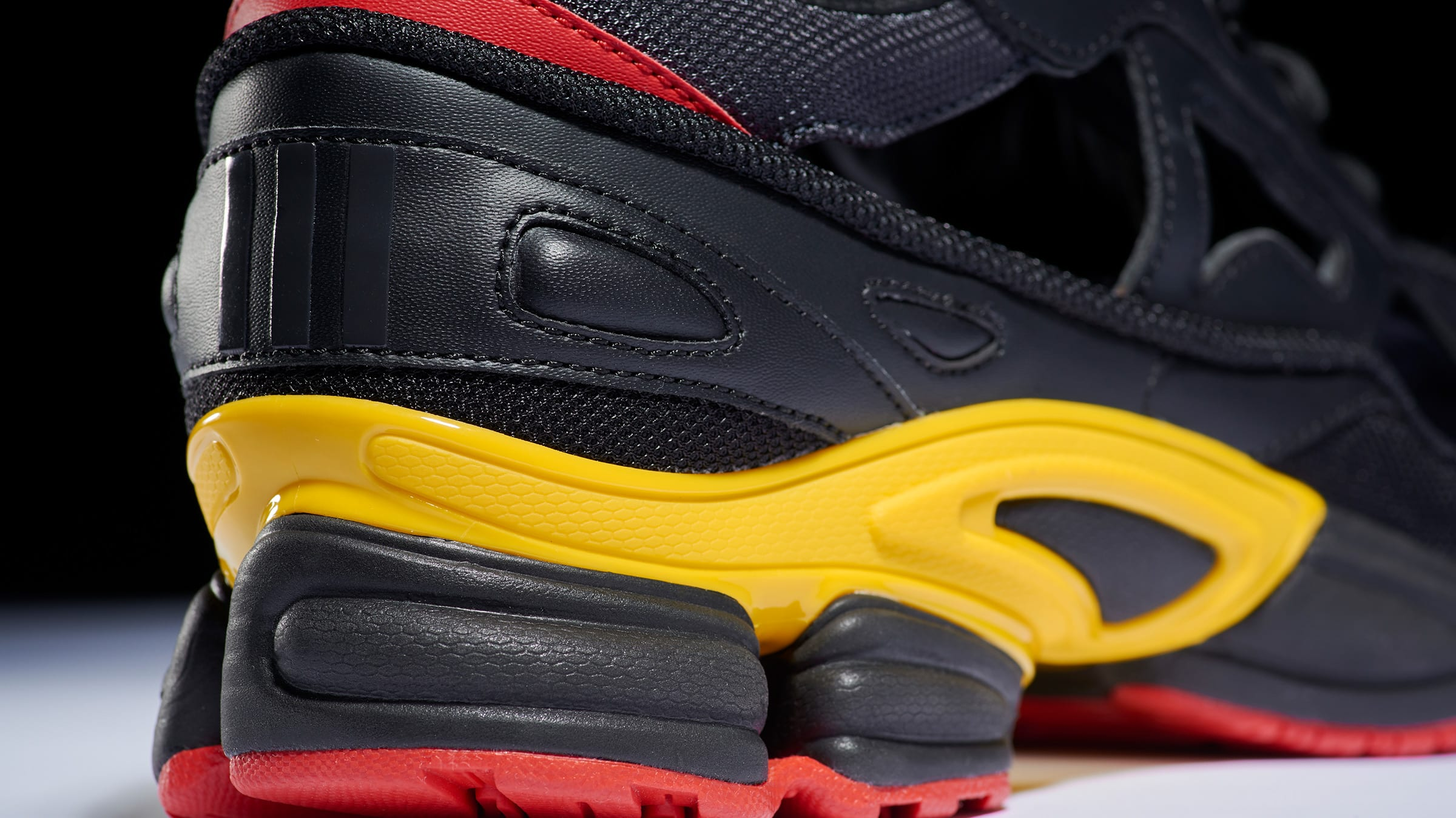 """outlet store a38a2 f9616 Belgian-born, Raf Simons follows up his 4th July """"Independence Day""""  colourway of the Ozweego with a homage to his birthplaces National Day."""