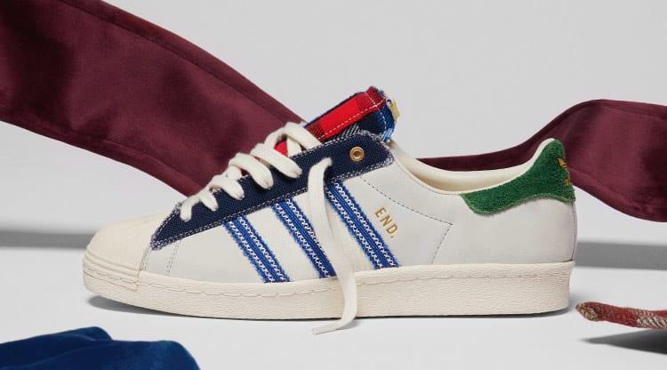 END. x Adidas Superstar 80s 'Alternative Luxury'
