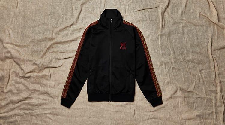 END. x Needles Track Jacket 'Paisley'