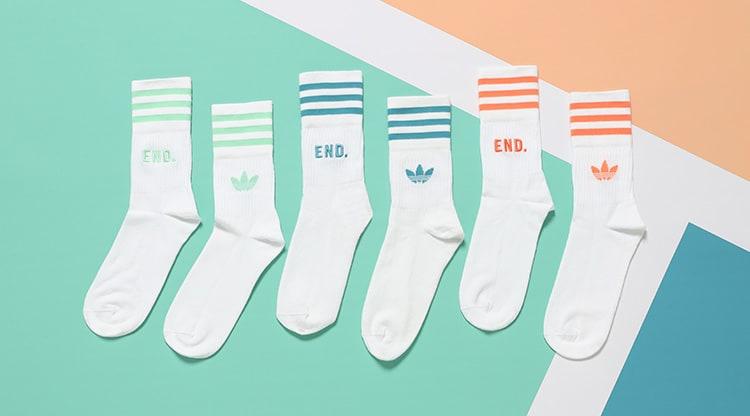 END. x Adidas Tennis Club Socks