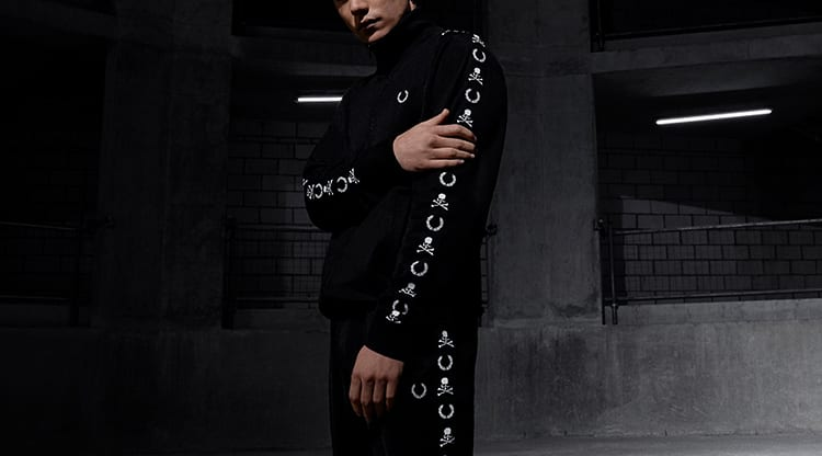 END. x MASTERMIND WORLD x Fred Perry Track Jacket