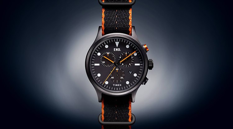 END. x Timex Allied Chronograph 'Blackout'
