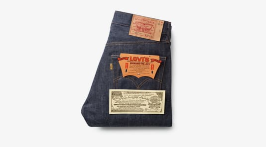 Levi's Cone Mill 501 'Golden Ticket' Jean
